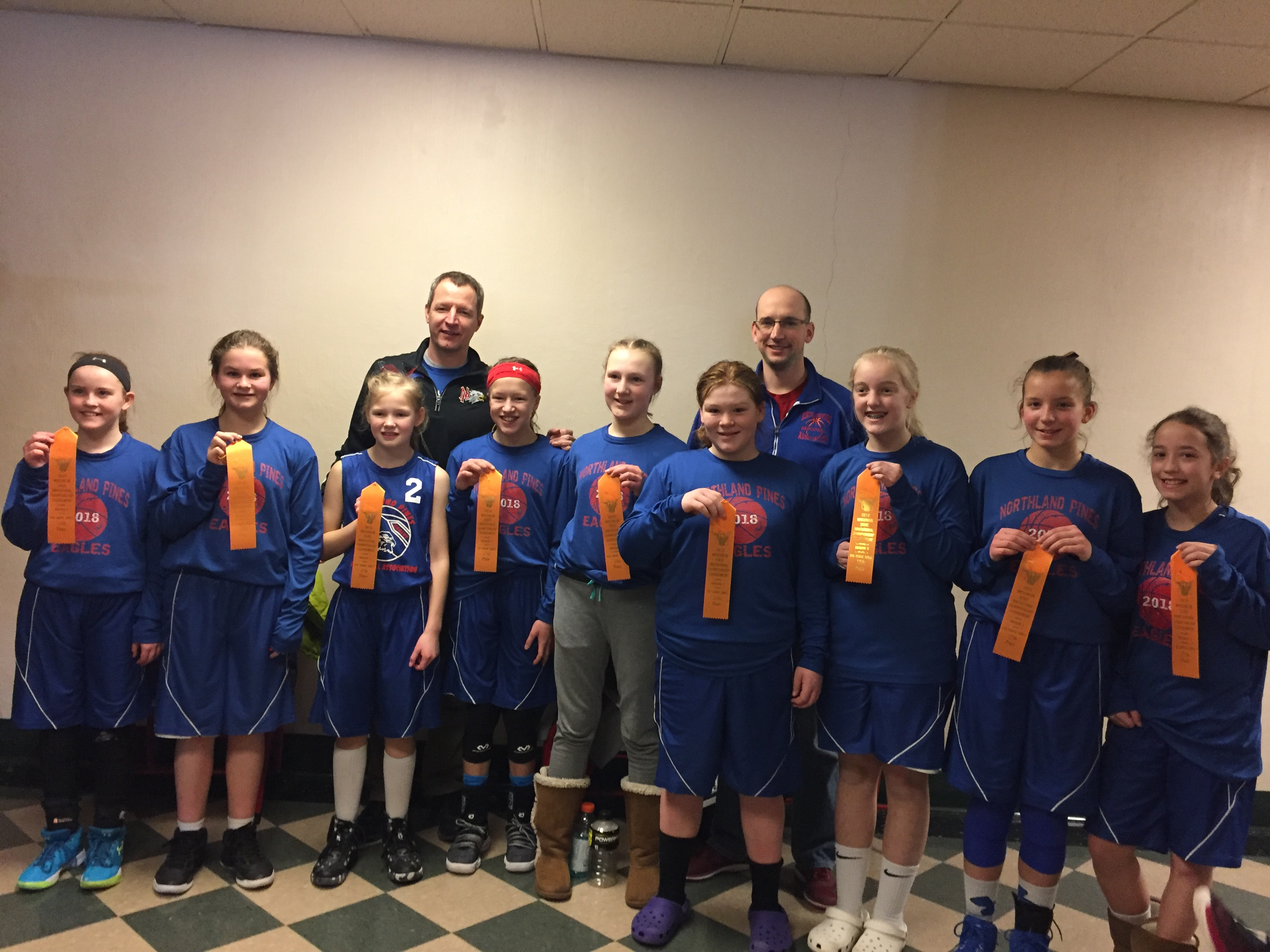 6th Grade Girls Sate 2018
